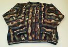 Tundra Canada For Bachrach Coogi Cosby Style Crewneck Sweater XL Rainbow Colors