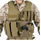 Blackhawk 30EV26DE Coyote Omega Elite Cross Draw Pistol Magazine Vest Right Hand