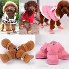 Small Dog Pet Puppy Shoes Chihuahua Boots Winter Warm Cozy Clothes Apparel S XXL