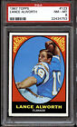 1967 Topps #123 Lance Alworth PSA 8 NM-Mint San Diego Chargers *753