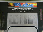 Edelbrock Carter AFB High Performance Carburetor Jet Master Tuning Kit 46 Pieces