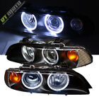 1997 2003 Bmw E39 5 Series Dual Halo Projector Black Headlights Left+Right Pair