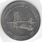 1976 Windsor, ON Canada Anniversary Dollar Town Token Medal Souvenir Coin