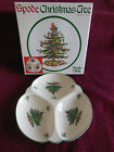 Spode Christmas Tree Pattern-Triple Dish-England-Excellent Condition
