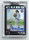 Bruce Sutter 2004 Topps Retired Signature Auto Refractor #6 25 Chicago Cubs