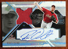 Roy Oswalt 2003 SPX Young Stars Auto Game Used Jersey #361 1295 Houston Astros