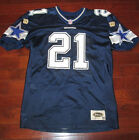 DEION SANDERS Vtg 90's Dallas Cowboys Authentic WILSON Jersey spandex Sewn Star