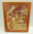 CLEANLINESS SWIMMING ANIMALS 1930s CHILDREN'S PUZZLES BOX SET