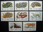 Russia 1977 4626-4633 MNH OG Russian USSR Protected Wildlife Fauna Set $3.85!!
