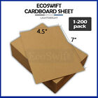 1 200 EcoSwift Chipboard Cardboard Craft Scrapbook Photo Pads Sheets 45 x 7