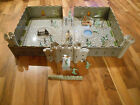 Old Vintage 1968 MARX Carry All Action Fighting Knights Play Set 4635 Suitcase