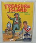 1968 Quaker Oats Cereal TREAURE ISLAND Pirates COLORING BOOK Premium Crayons MIP
