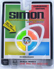 SIMON Handheld ELECTRONIC GAME Lights Sounds White Travel Clip-On Carabiner NEW