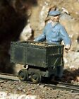 S SCALE Sn3 WISEMAN MODEL SERVICES T 2224 3 MINE PUSH CARS KIT