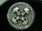 SKULL TOGGLE SWITCH CAVITY BACK PLATE COVER FOR GIBSON LES PAUL GUITAR CUSTOM!!!
