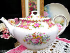 ROYAL ALBERT LADY CARLYLE TEAPOT RARE PIECE FIRST QUALITY TEA POT ENGLAND