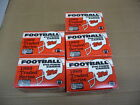 1989 89 Topps Traded FOOTBALL SET LOT OF 3 SETS 132 CARDS EACH