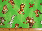 Birds Rabbits Racoons Squirrels Owls etc end of bolt ONE YARD read full listing