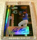 PEDRO MARTINEZ RARE 8 CARD LOT MIRROR EMERALD AUTO #1 5 BUTTON JERSEY PATCH #5 5