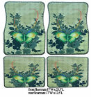 Cc Rubber Base Car Floormats With Printed Design Butterfly Dolphins Penguins