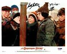 Scotty Schwartz Signed A Christmas Story Autographed 8x10 Photo PSA DNA #2