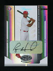 2004 Leaf Certified RYAN HOWARD #167 Autograph Mirror White 11 25