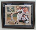 Ted Williams Boston Red Sox Signed Framed Danny Day 21x27 Lithograph 126615