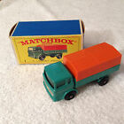 Lesney Matchbox 1968 Mercedes Truck 1 w Original Type E Box Very Nice! |