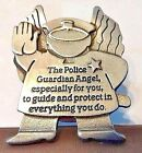 POLICE OFFICER Guardian Angel Visor Clip Stay Safe COP Angel Visor Clip LEOs
