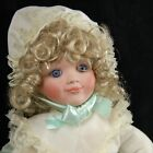 Cindy McClure Jenny creepy cute Girl Doll Victoria Impex Porcelain 15 in signed