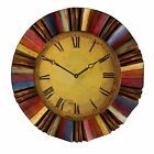Southern Enterprises Multicolor Wall Clock WS1963 New
