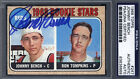 1968 Topps #247 Johnny Bench Rookie HOF Signed Autographed Card Reds PSA DNA