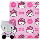 Northwest Los Angeles Dodgers MLB Hello Kitty with Throw Combo