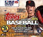 2015 TOPPS SERIES 2 BASEBALL JUMBO HTA 6 BOX CASE