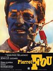 Pierrot Le fou Jean Paul Belmondo Jean Luc Godard cult movie poster 24x32 inches