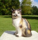 Calico Cat Kitten Porcelain Figurine Enesco, Made in China