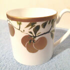WATERFORD  GOLDEN APPLE MUG NWT  DISCONTINUED 2010