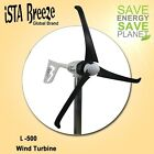Windgenerator 12V / 500W iSTA Breeze, small wind turbine L-500 Black Edition