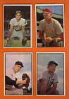 - 1953 Bowman Color Baseball Card Ray Boone #79 Excellent - Indians