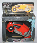 1981 Tomy Tron Disney Red Light Cycle Boxed  Unused