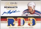 09 10 UD OPC Premier Remnants auto Oilers Patch RD 3 Mark Messier 10