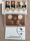 2015 PRESIDENTIAL 1 GOLDEN DOLLAR GEM PROOF DCAM 4 COIN SET with box and COA