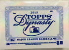 2015 TOPPS DYNASTY BASEBALL HOBBY BOX FACTORY SEALED 1 PATCH AUTO PER BRYANT?