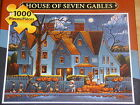 Eric Dowdle Halloween Theme Jigsaw Puzzle ~ House of Seven Gables ~ New!!