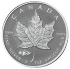 2016 Canada 5 1 Oz Reverse Proof Silver Maple Leaf Mark V Tank Privy SKU39171