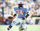 Houston Oilers Earl Campbell Signed 8x10 Photo Reprint Autographed RP
