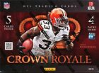 2012 PANINI CROWN ROYALE FOOTBALL HOBBY SEALED BOX