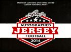 2014 LEAF AUTOGRAPHED FOOTBALL JERSEY EDITION FACTORY SEALED HOBBY BOX