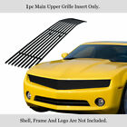 Fits 2010 2013 Chevy Camaro Phantom Style Stainless Steel Black Billet Grille