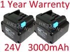 2x 3000mAh Battery for HITACHI CR 24DV CORDLESS RECIPROCATING SAW 319805